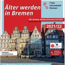 Broschüre Älter werden in Bremen 2021/22